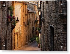 By The Town Of Ainsa In The Province Of Huesca Acrylic Print