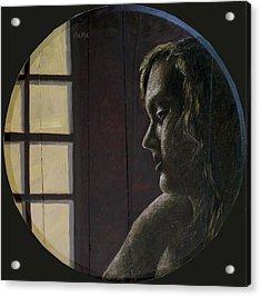 By The Window Acrylic Print by Ralph Papa