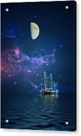 By Way Of The Moon And Stars Acrylic Print