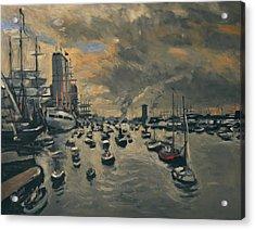 Bye Bye Sail Amsterdam Acrylic Print