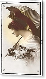 Bygone Beauty Acrylic Print