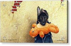 B.y.o.b. - Bring Your Own Bear... Acrylic Print by Will Bullas