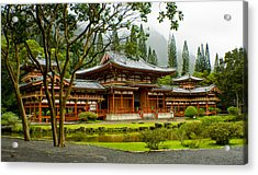 Byodo-in Temple Acrylic Print