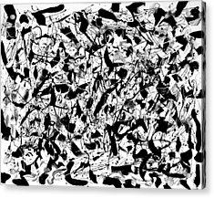 Byrd Acrylic Print by Wayne Salvatore