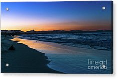Byron Bay After The Sun Sets Acrylic Print