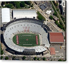 Acrylic Print featuring the photograph C-019 Camp Randall Stadium by Bill Lang