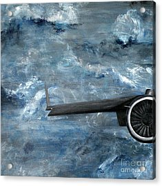 C-17 Globemaster IIi- Panel 1 Acrylic Print by Holly York