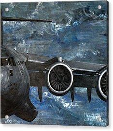 C-17 Globemaster IIi- Panel 3 Acrylic Print by Holly York