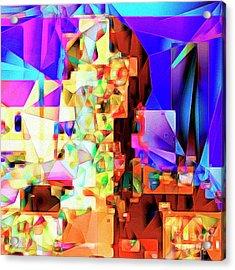 C-3po Metropolis 20170406 V2 Square Acrylic Print