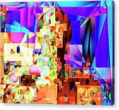 C-3po Metropolis 20170406 V2 Acrylic Print