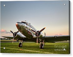 C-47 At Dusk Acrylic Print