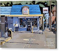 C And G Acrylic Print by Deb Putnam