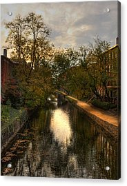 C And O Canal Acrylic Print by Brian Governale