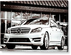 C250 In Black And White Acrylic Print