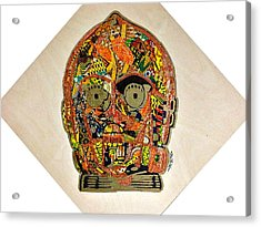 C3po Star Wars Afrofuturist Collection Acrylic Print