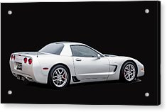 C6 Corvette Acrylic Print