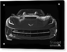 C7 Stingray Corvette Acrylic Print by Dennis Hedberg