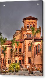 Acrylic Print featuring the photograph Ca Dzan Mansion South by John Knapko