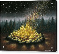Campfire 01 Acrylic Print