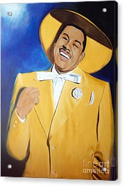 Cab Calloway In Color Acrylic Print