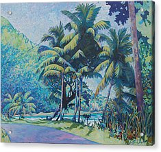 Cabana Beach Acrylic Print