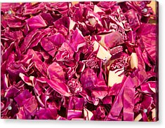 Cabbage 639 Acrylic Print by Michael Fryd