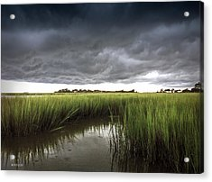 Cabbage Inlet Cold Front Acrylic Print