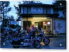 Cabbage Patch Bikers Bar Acrylic Print