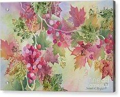 Cabernet Acrylic Print by Deborah Ronglien