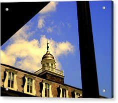 Cabildo Cupola Jackson Square Acrylic Print by Ted Hebbler