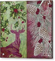 Cabin Christmas I Acrylic Print