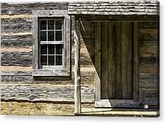 Cabin Door 01 Acrylic Print