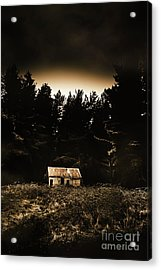 Cabin In The Woodlands  Acrylic Print
