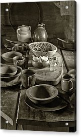 Cabin Kitchen Table Acrylic Print