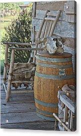 Cabin Porch2 Acrylic Print