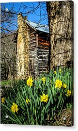Cabin Spring Acrylic Print