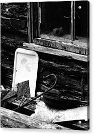 Cabin-window Acrylic Print