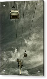 Cable Car Acrylic Print by Martin Newman