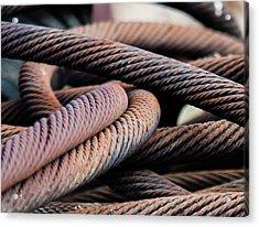 Cable Chaos Acrylic Print