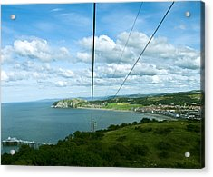 Cable Lift Acrylic Print by Svetlana Sewell