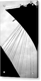 Acrylic Print featuring the photograph Cables And Funes by Valentino Visentini