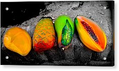 Cabo Fruit Art Acrylic Print