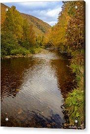 Cabot Trail Autumn 2015 Acrylic Print