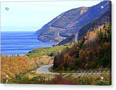 Cabot Trail, Cape Breton, Nova Scotia Acrylic Print