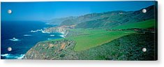 Cabrillo Highway On The California Acrylic Print