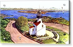 Cabrillo Old Pt. Loma Lighthtouse, San Diego Acrylic Print