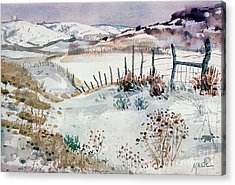 Cache Valley Meadows  Acrylic Print