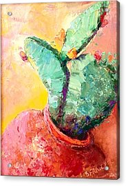 Cactus Cool Acrylic Print