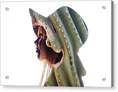 Cactus Suit Of Armor Acrylic Print