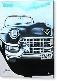 Caddie - 1955 Acrylic Print by Dean Glorso